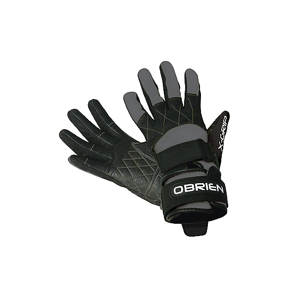 O'Brien Competitor X-Grip Water Ski Gloves 2020, Grey-Black, 600