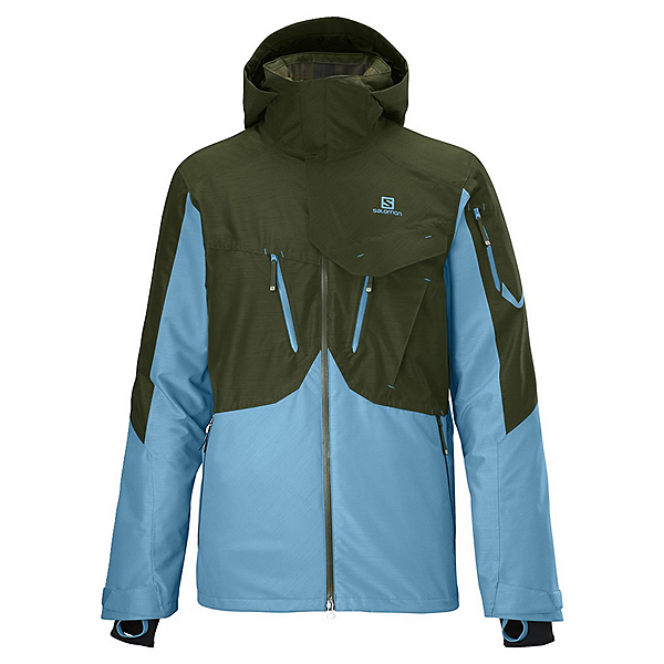 Salomon Cadabra 2L Mens Shell Ski Jacket, , 600