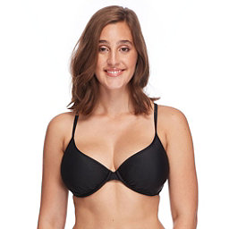 Body Glove Smoothies Solo Bathing Suit Top, Black, 256