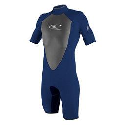 O'Neill Hammer Short Sleeve Spring Shorty Wetsuit 2017, Navy-Navy-Black, 256