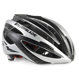 Rollerblade Performance Race Machine Mens Fitness Helmet 2018, Black-Silver, 256