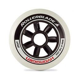 Rollerblade Hydrogen 110mm 85A Inline Skate Wheels - 8 Pack 2018, Black, 256