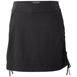 Columbia Anytime Casual Skort Skirt, Black, 256
