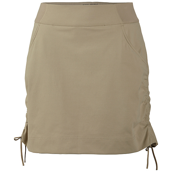 Columbia Anytime Casual Skort Skirt, Tusk, 600
