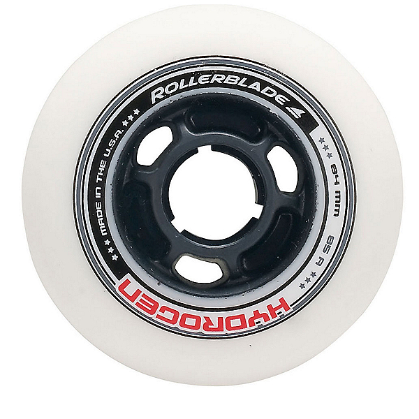 Rollerblade Hydrogen 84mm 85A Inline Skate Wheels - 8 Pack, , 600