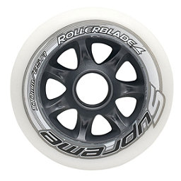 Rollerblade Supreme 100mm 85A Inline Skate Wheels - 8 Pack 2018, , 256