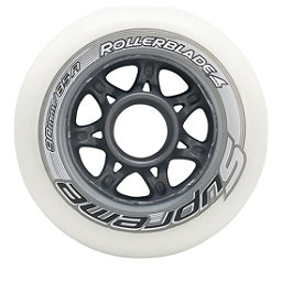Rollerblade Supreme 90mm 85A Inline Skate Wheels - 8 Pack 2018, , 256
