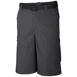 Columbia Silver Ridge Cargo 10 Inch Mens Shorts, Grill, 256