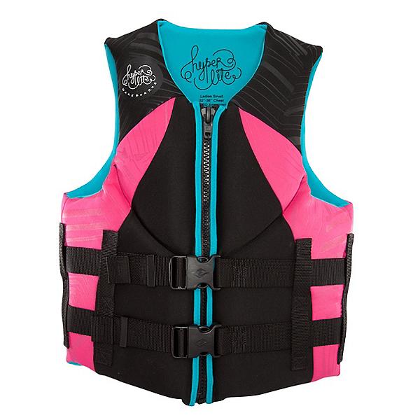 Hyperlite Indy Neo Womens Life Vest, Pink-Aqua, 600