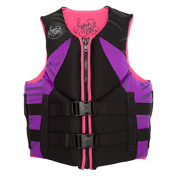Hyperlite Indy Neo Womens Life Vest, Purple-Pink, 600