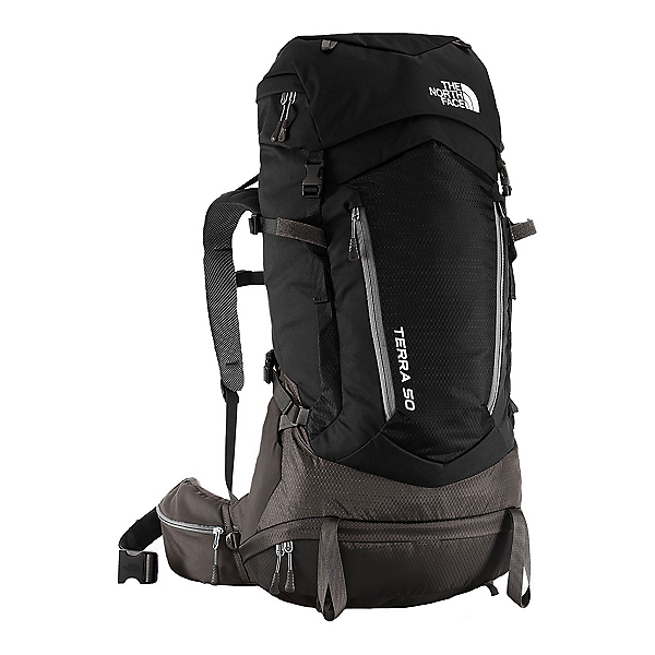 The North Face Terra 50 Backpack (Previous Season), TNF Black-Asphalt Grey, 600
