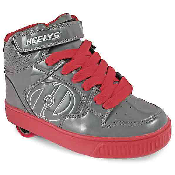 Heelys Fly Holiday, Gray-Red Patent, 600