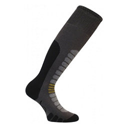 Euro Sock Board Supreme Snowboard Socks, Dark Grey, 256