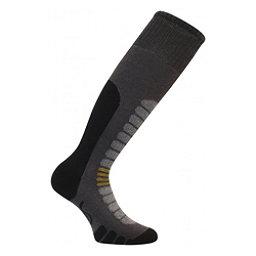 Euro Sock Board Supreme Snowboard Socks, Dark Grey, 256