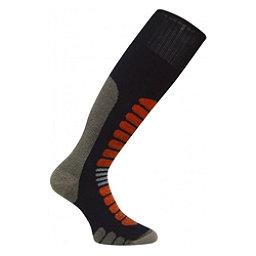 Euro Sock Board Supreme Snowboard Socks, Black, 256