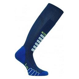 Euro Sock Silver Supreme Ski Socks, Navy, 256