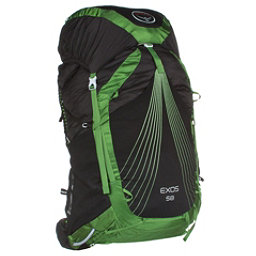 Osprey Exos 58 Backpack 2017, Basalt Black, 256