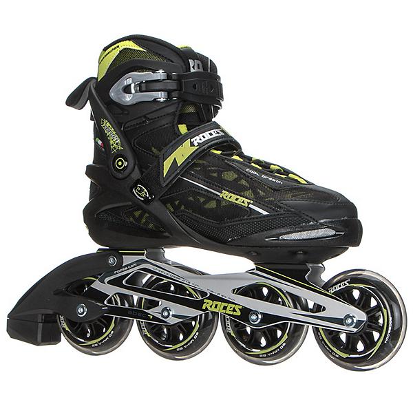 Roces Xenon Inline Skates, Black-Acid Green, 600