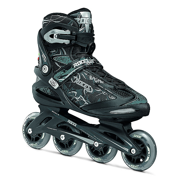 Roces Tattoo Inline Skates, Black-Silver, 600