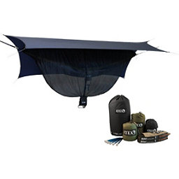 ENO One Link with Double Nest Hammock, Navy-Olive, 256