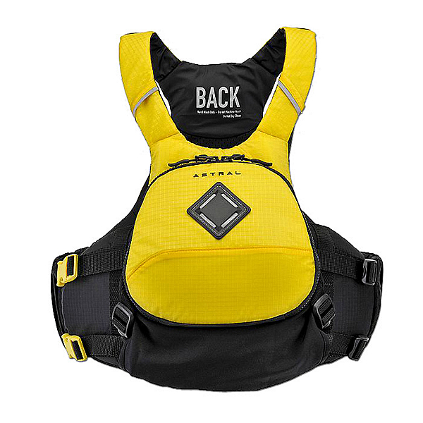Astral Sea Wolf Adult Kayak Life Jacket, Yellow, 600