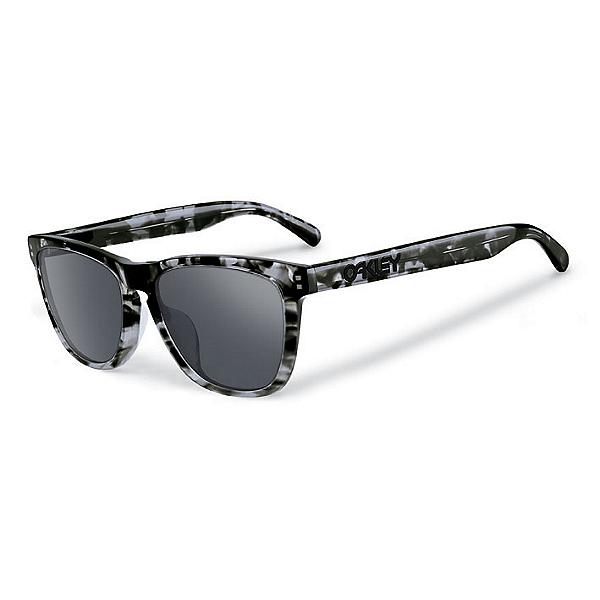 Oakley Frogskins LX Sunglasses, Dark Grey Tortoise-Black Iridium, 600
