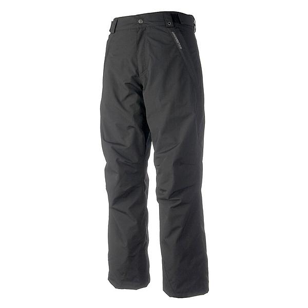 Obermeyer Rail Yard Shell Short Mens Ski Pants, Black, 600