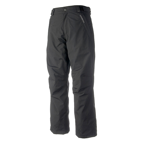 Obermeyer Rail Yard Shell Mens Ski Pants, Black, 600