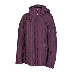 686 Ribbon Womens Insulated Snowboard Jacket, Plum, 256