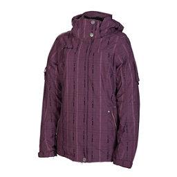 686 Ribbon Womens Insulated Snowboard Jacket, Plum, 256