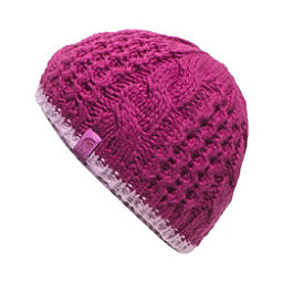 The North Face Youth Cable Minna Kids Hat (Previous Season), Roxbury Pink, 256