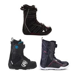 Used Premium Boa Boys Snowboard Boots Snowboard Boots, , 256