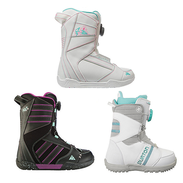 Used Premium Boa Girls Snowboard Boots Snowboard Boots, , 600