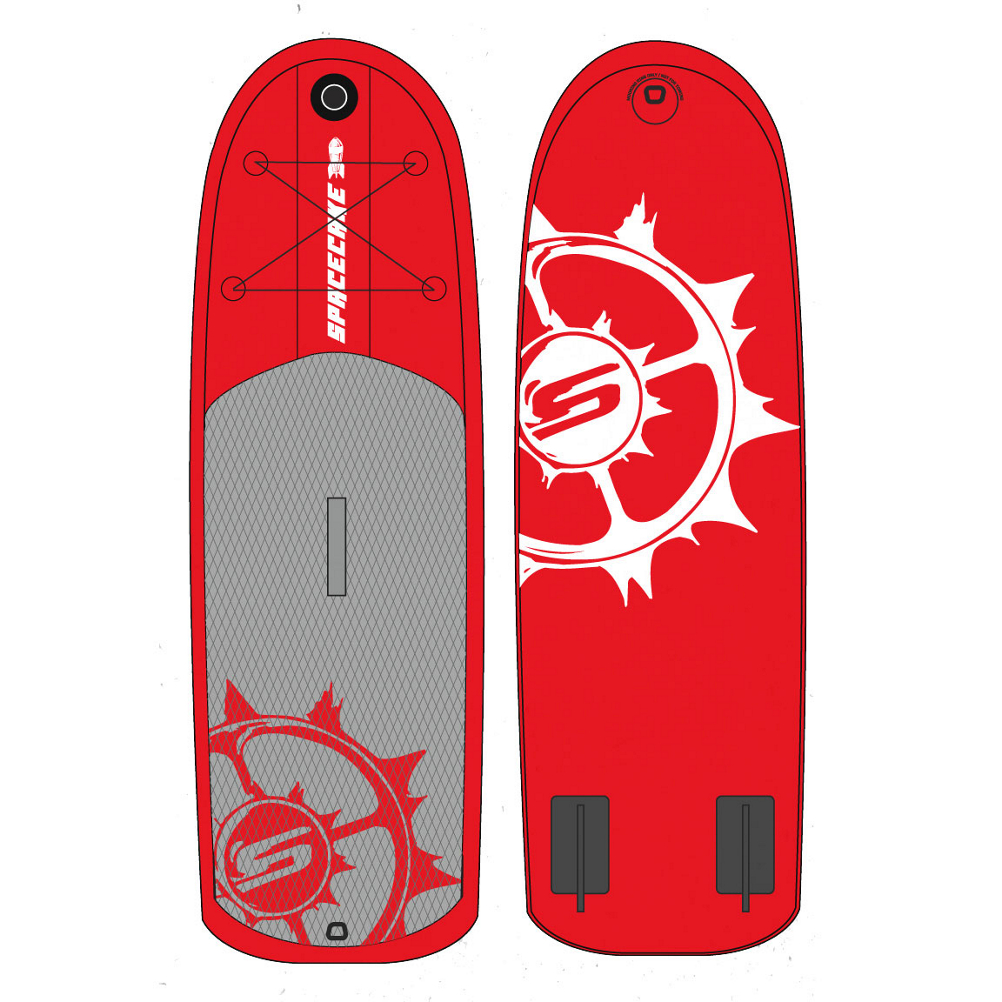 Slingshot Space Cake 7'10 Inflatable Stand Up Paddleboard im test
