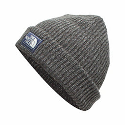 The North Face Salty Dog Beanie Hat, Graphite Grey-Mid Grey, 256