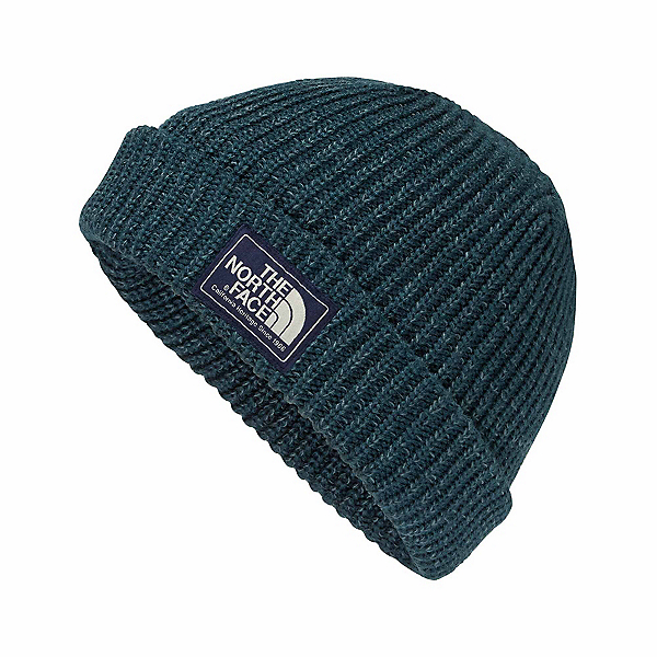 The North Face Salty Dog Beanie Hat, Kodiak Blue-Conquer Blue Marl, 600