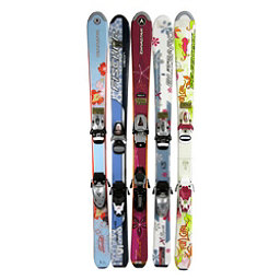 Used Girls Flat Girls Skis, , 256