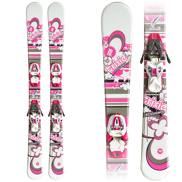 Used Twin Tip Girls Skis, , 600