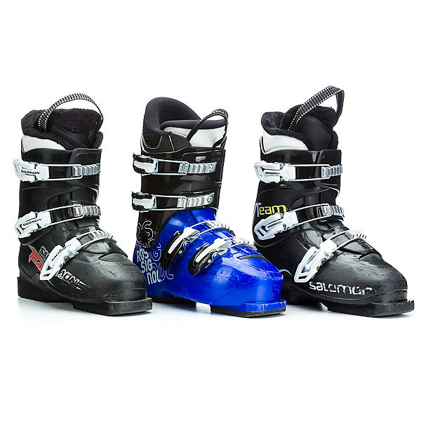 Used Boys 3 Buckle Ski Boots, , 600