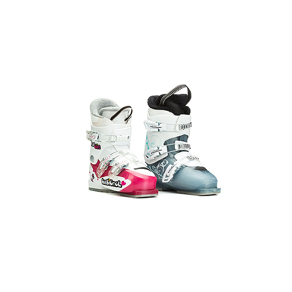 Used Girls 3 Buckle Ski Boots, , 600