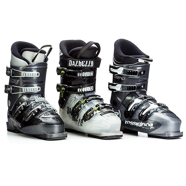 Used Boys 4 Buckles Ski Boots, , 600