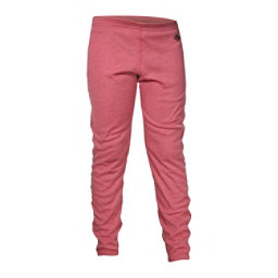 Hot Chillys Geo-Pro Girls Long Underwear Bottom, Rose Heather, 256