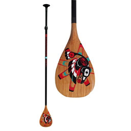 Boardworks Surf Raven Adjustable Stand Up Paddle, 66.5-92in, 256