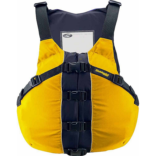 Stohlquist OSFA Life Jacket Adult Kayak Life Jacket, Mango, 600