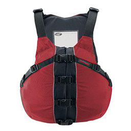 Stohlquist OSFA Life Jacket Adult Kayak Life Jacket, Fireball Red, 256