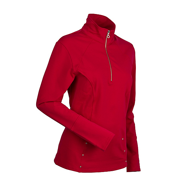 NILS Bronwyn Womens Mid Layer, Red, 600