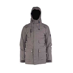 Cappel Magnificent Mens Shell Snowboard Jacket, Putty Dobby, 256