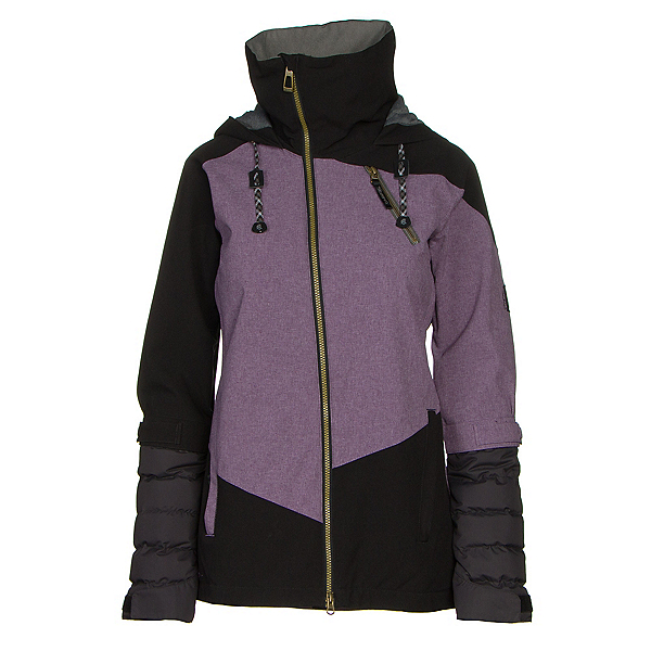 Cappel Heartbreak Womens Insulated Snowboard Jacket, Orchid Tweed, 600