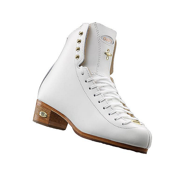Riedell 1375 Gold Star Womens Figure Ice Skates, White, 600