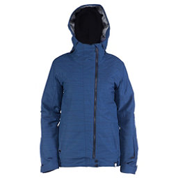 Ride Seward Womens Insulated Snowboard Jacket, Twilight Navy Slub, 256